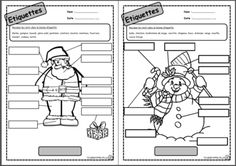 French Christmas vocab sheet, includes practice with numbers as well. Christmas Activities For School, Classroom Activities, Classroom Ideas, French Teaching Resources, Teaching French, Vocabulary Instruction, French Worksheets, Core French, French Christmas