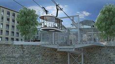 Le futur tramway de Brest passera à 72 mètres au-dessus de la rivière. Un investissement de 19,1 million d'euros