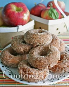 Apple Cider Doughnuts--shared by Sherry Gore from Cooking & Such magazine: Adventures in Plain Living. #Amish, #recipes
