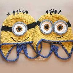 Minion hats crochet pattern