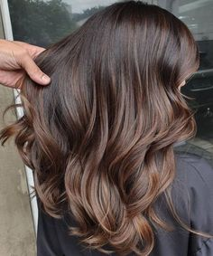 Toffee is the new color bet to light and warm brown hair! Warm Brown Hair, Coffee Brown Hair, Coffee Hair, Light Brown Hair, Ash Brown, Hair Color For Black Hair, Brown Hair Colors, Chocolate Hair, Chocolate Brown