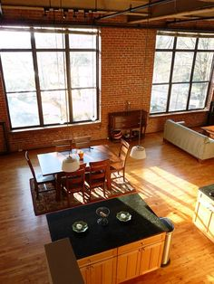 move out (preferably into a place with exposed brick walls)