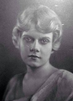 vintage everyday: Jean Harlow – Before to be a Star: 20 Rare Vintage Photos of Harlean Carpenter before 1928