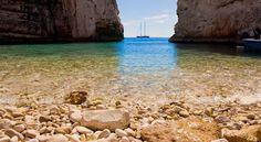 Stiniva Cove Beach  |  Island of Vis, Croatia (Eastern Europe)