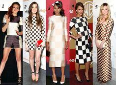 Celebrities in blocked dresses !