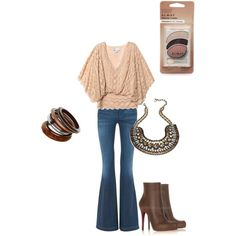 Super cute Boho Top w/ jeans, perfect outfit.
