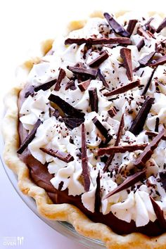French Silk Pie (Chocolate Pie but better!). Literally chocolately silk in the mouth!