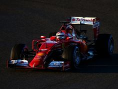 Kimi and Ferrari end test on top