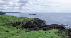 This is the beautiful landmark in Catanduanes, Philippines called: Point Binurong.