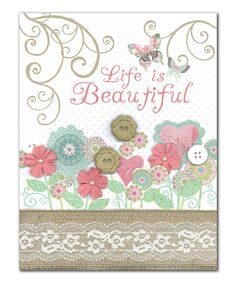 Yes. :: 'Life Is Beautiful' Print