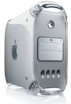 2003 - Power Mac G4 (Mirror Door) - 1GB RAM - 120GB HD - PowerPC 7455 (G4) x2, 1.25 GHz.
