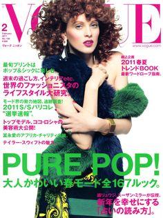 Karen Elson by Inez Van Lamsweerde & Vinoodh Matadin Vogue Nippon February 2011