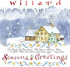 Susan Branch - Willard - December, 2012.  I love this newsletter and this is a wonderful way to save them.