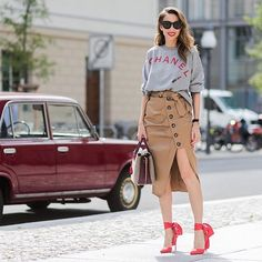Another day, another look in #berlin during #mbfwb | @stylebop #stylebop | @liketoknow.it http://liketk.it/2rX2O #liketkit @thestyleograph • • • • • #AlexandraLapp #metoday #fashiondiaries #fashionblog #blownaway #fashionblogger_de #fashionblogger #blogger #blog #blogger_de #style #stylish #fashion #todayiamwearing #ootd #outfit #lookbook #look #wiw #wiwt #stylebop #chanelvintage #louboutinworld #mrselfportrait #mcm