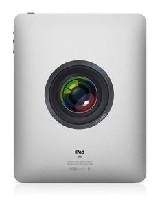 Camera Lens--iPad decal iPad sticker Mac Decals Macbook Stickers  Macbook Decals Pro Air Apple inyl decal. $8.50, via Etsy.