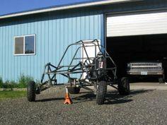 A Homemade Go-Kart Frame (Photo courtesy from sadik.net)