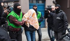 German police arrest three ISIS linked 'Islamist terrorists' during raids | Daily Mail Online