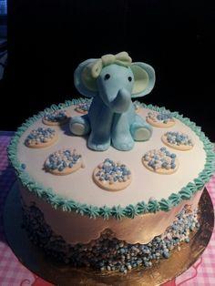 Taart jongen, dat olifantje! Schattig!! Cupcakes, Cupcake Cakes, Beautiful Cakes, Om, Desserts, Baby, Tailgate Desserts, Cup Cakes, Dessert