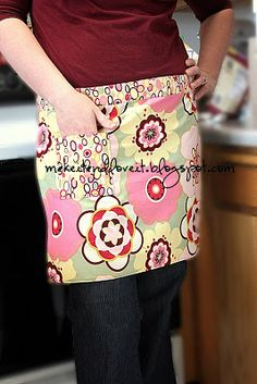 Quick Apron   Make It and Love It