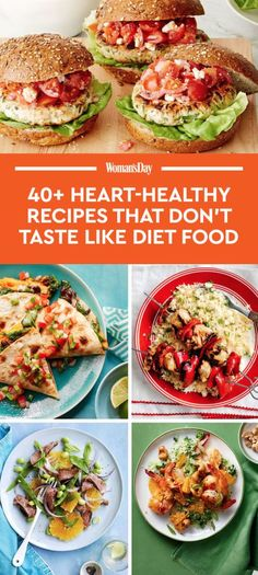 Save these heart-healthy dinner recipes for later by pinning this image, and follow Woman's Day on Pinterest for more.