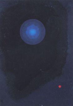 """Wassily Kandinsky - """"Blue"""", 1927"""