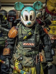 Fafifefoto — y_nakajima_ Warfare, Master Chief, Cyberpunk, Samurai, Deadpool, Action Figures, Superhero, Fictional Characters, Art