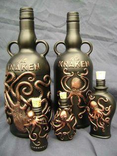 Kraken bottle collection