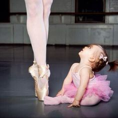 A ballerina was the first thing I wanted to be when I grew up.