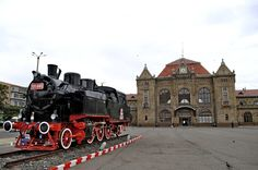 Visit the post for more. Central Europe, Steam Locomotive, Train Tracks, Black Sea, Capital City, Train Station, Places To See, Scenery, Trains