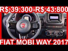 INTERIOR R$ 39.300-R$ 43.800 Fiat Mobi Way aro 14 MT5 1.0 Flex Fire Evo 75 cv 9,9 mkgf 152 kmh #Mobi - YouTube