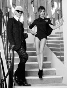 Victoria Beckham at Chanel