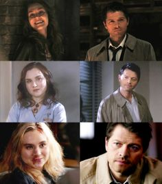 The way they look at each other.... don't tell me Cas&Meg was not true, look at them <3