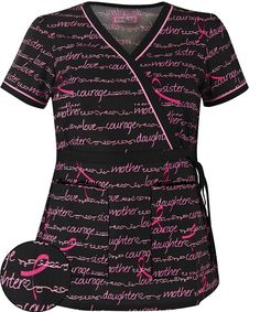 K115WOH 	  Koi Scrubs Limited Edition Words of Hope Print Top $24.99 http://www.uniformadvantage.com/pages/prod/hope-print-scrub-top.asp?navbar=11