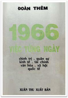 1966 Việc Từng Ngày (NXB Xuân Thu 1968) - Đoàn Thêm, 259 Trang | Sách Việt Nam