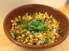 roasted Mexican corn: a delicious, vegan Mexican side dish.