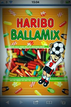 HARIBO  ballamix. Saw this and thought about candy crush. LOL