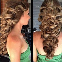 Pretty and curly