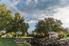 Wedding Island in October | Wilderness Ridge, Lincoln NE >> www.wildernessridgegolf.com