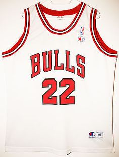ea940b4dd Champion NBA Basketball Trikot Jersey Vintage Chicago Bulls Jay Williams 48 XL  Vintage Basketball Jerseys
