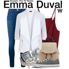 Inspired by Willa Fitzgerald as Emma Duval on Scream: The TV Series.
