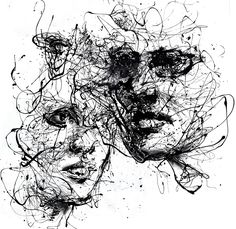 our lines, our story, it isn't a linear path by agnes-cecile.deviantart.com on @deviantART