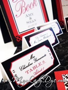 100 Old Rock Star Hollywood Movie Ticket Escort Card  by MyLadyDye, $237.28
