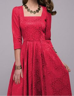 35b48bea55469 Simple Flavor Women's Vintage Evening Elegant Long Dress at Amazon Women's  Clothing store: