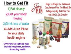 Juice PLUS comes in capsules, gummies or shakes for pennies per day! Why wait?