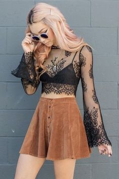 a9e39c9532df ... Outfits To Wear At A Music Festival Stylish concert outfit ideas fit  for everyone to wear for Coachella and other music festivals this summer.