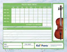 Music Practice Charts   Kid Pointz