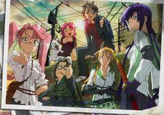 High school of the dead ~ possibly my favorite horror anime Art, Anime, Takashi, Cartoon, Horror, Anime Shows, Fan Art, Manga, Anime High School