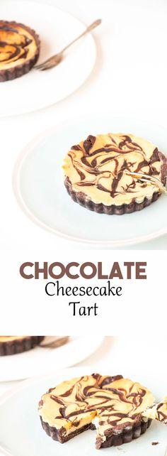 Chocolate Cheesecake Tartlets