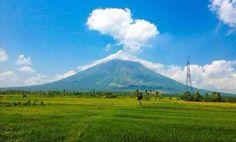 View from Cagsawa Ruins, Albay Volcano, Mount Rainier, Philippines, Mountains, Nature, Travel, Naturaleza, Viajes, Destinations