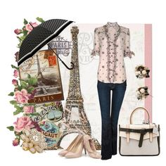 """SPRING RAIN IN PARIS"" by mk-style on Polyvore"